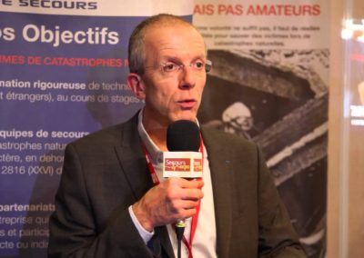 Secours expo 2015 – Intervention et interview